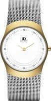 Danish Designs Danish Design Women's Quartz Watch with Dial Analogue Display and Grey Stainless Steel Bracelet DZ120129