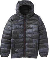 Joe Fresh Kid Boys' Camo Puffer Jacket, Charcoal (Size S)