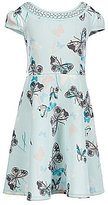 Xtraordinary Big Girls 7-16 Butterfly-Print Dress