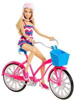 Barbie Glam Bike and Doll