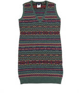Ralph Lauren Cotton And Merino Wool Dress