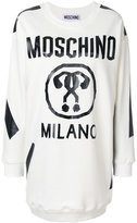 Moschino Question Mark sweatshirt dress