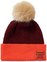 Jigsaw Iona Colour Block Donegal Pom Hat