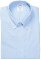 Brooks Brothers Collared Long Sleeve Regent Classic Fit Print Shirt