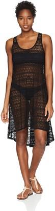 Gottex Women's Tutti Frutti Round Neck Crochet Cover up