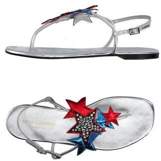 Saint Laurent Toe strap sandal
