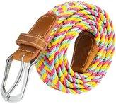 Sitong Fashion pin buckle canvas woven elastic waistband