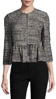 Rebecca Taylor Women's Peplum Cotton Jacket