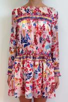Tanya Taylor Silk Floral Dress
