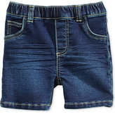 First Impressions Pull-On Denim Shorts, Baby Boys (0-24 months), Only at Macy's
