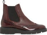 Dune Pacey brogue leather Chelsea boots