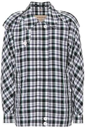Burberry Checked Harrington jacket