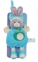 BabyCenter Gipsy Pomme 070174 Soft Toy with Mirror Rabbit 24 cm Turquoise