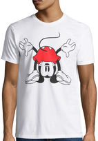 Novelty T-Shirts Disney Collection Short-Sleeve What's Up Mickey Mouse Tee