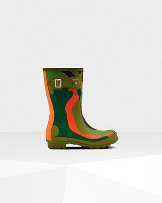 Hunter Women's Original Rockpool Camo Short Rain Boots
