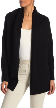 Vince Draped Shawl Collar Wool & Cashmere Cardigan