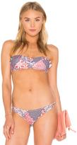 MinkPink Wild Word Bikini Top