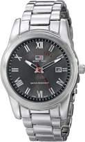 U.S. Polo Assn. Men's Tone Sporty Bracelet Watch US8002