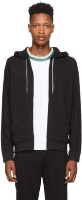 Paul Smith Black Jersey Hoodie
