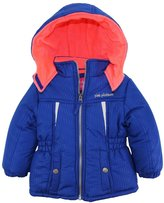 Pink Platinum Little Girls' Heavyweight Winter Puffer Ski Jacket