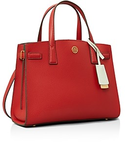 Tory Burch Walker Small Leather Satchel