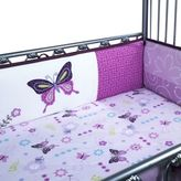 Lambs & Ivy Butterfly Lane 4-Piece Crib Bumper
