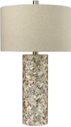 Artistic Home & Lighting Trump Home Herringbone Led Table Lamp