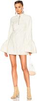 Marques Almeida Marques ' Almeida Mini Dress with Frill Cuffs