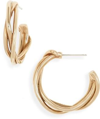 FARIS Small Tangle Hoop Earrings