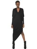 Gareth Pugh Wool Cashmere Micromodal Jersey Dress