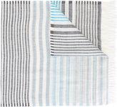 Salvatore Ferragamo striped scarf