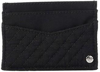Vera Bradley Slim Card Case (Classic Black) Wallet