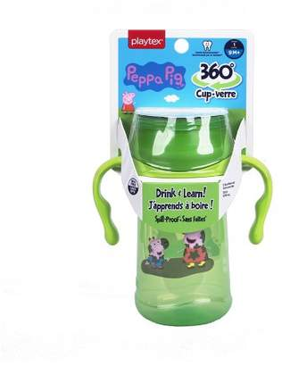 Playtex Stage 1 Peppa Pig 360 Spoutless Cup - 1pk