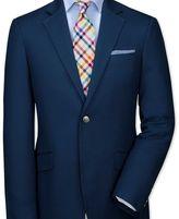 Charles Tyrwhitt Classic fit navy Italian cotton blazer