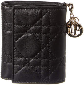 Christian Dior Lady Leather Wallet
