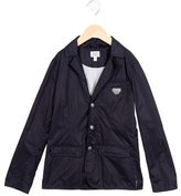 Armani Junior Girls' Lightweight Notch-Lapel Jacket