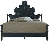 Horchow Nicolette Black Queen Bed