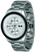 Vestal Women's ZR2001 ZR-2 Polished Silver Chronograph Watch