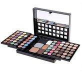 ACEVIVI Professional Shimmer 78 Colors Eye Shadow Palette Makeup Cosmetic Eyeshadow Kit