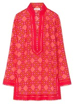 Tory Burch 4t Printed Tory Tunic