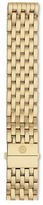 Michele 18mm Deco Gold 7-Link Bracelet Watches