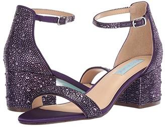 Betsey Johnson Blue by Mari Heeled Sandal (Gold) Women's Shoes