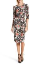 Rebecca Taylor Women's Lua Floral Jersey Dress