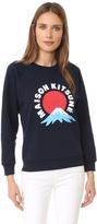 MAISON KITSUNÉ Mont Fuji Sweatshirt