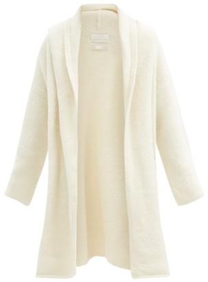 LAUREN MANOOGIAN Capote Hooded Alpaca-blend Cardigan - White