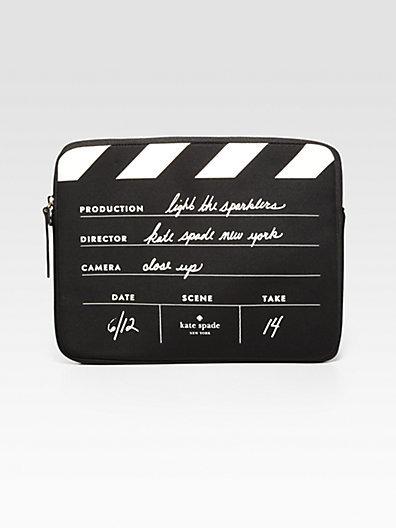 Kate Spade Director's Clapboard Neoprene Case for iPad 1, 2 & 3