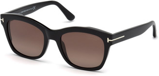 Tom Ford Lauren 02 Mirrored Square Sunglasses