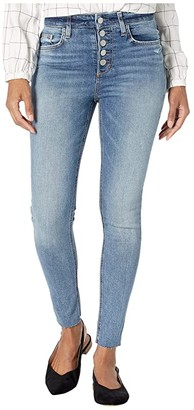 Joe's Jeans Charlie Ankle Cut Hem Exposed Button Fly Jeans in Valerian (Valerian) Women's Jeans