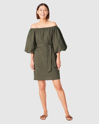 French Connection Women's Dresses - Off Shoulder Textured Dress - Size One Size, 14 at The Iconic