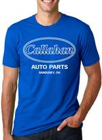 Crazy Dog T-shirts Crazy Dog Tshirts Men's Callahan Auto Parts T Shirt Funny Logo Novelty Vintage Movie Tee for Guys